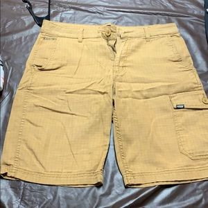 Vans Checkered Cargo Shorts